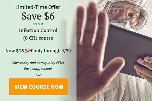 $6 off Infection Control