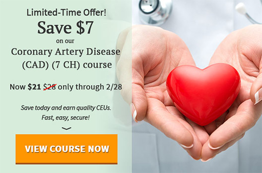 $10 off Coronary Artery Disease