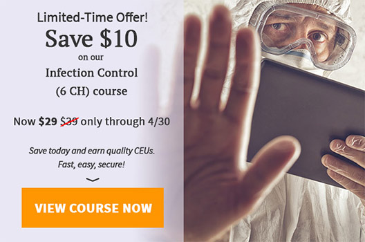 $10 off Infection Control