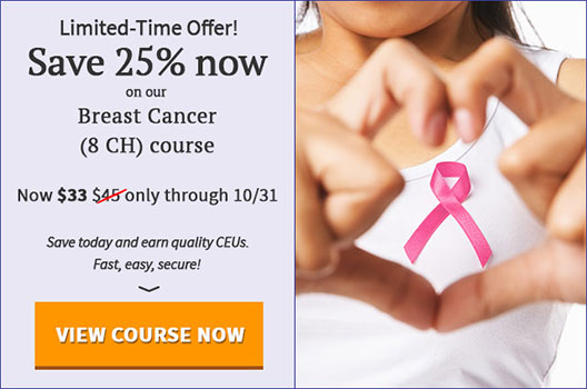 25% off Breast Cancer Course