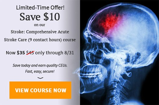 $10 off Stroke: Comprehensive Acute Stroke Care