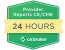 We report to CE Broker